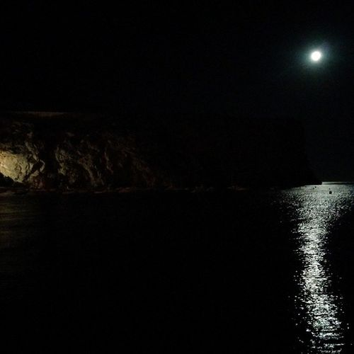 Una luna preciosa en Calahonda