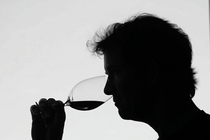 Side View wine country One Person Close-up Silhouette One Man Only Wine Tasting Winery Winelover Winecountry