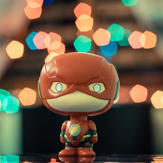 The Flash Toyphotography Bokehlicious Toys Justice League Indoors  Night first eyeem photo