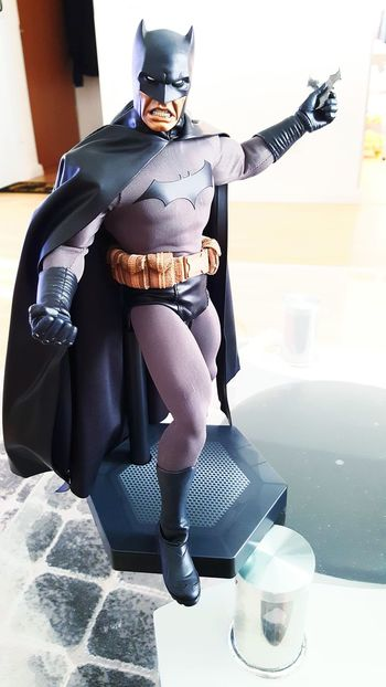 Gotham City Gotham ArkhamKnight Darkknight Dcuniverse Brucewayne One Person Sideshowcollectors Sideshowcollectibles Batman Photography People Toy Men Batwing Looking At Camera