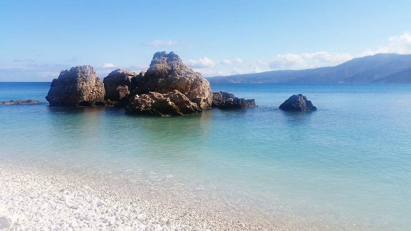 Beach Photography Holidays ☀ Beautiful View Family❤ Beauty In Nature Cefalonia Kefalonia, Greece