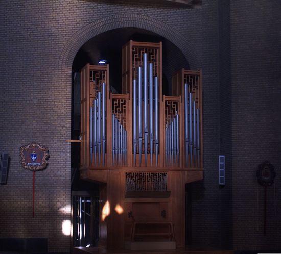 Basilica Brussel Colors Horizontal Indoors  Koekelberg Koekelberg Basilica No People Organ