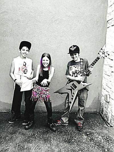Soundtrack Of Our Lives Rockstars Family Talent Concert Music Guitar Keyboard Drums