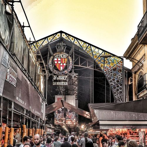Mercat La Boqueria Outdoors Travel Scenics People Travel Destinations