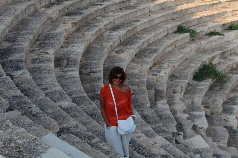 Antik Theater Kaş-kalkan Antic Theatre Woman Of EyeEm Summerholiday Old Buildings