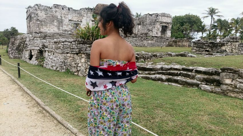 Tulungagungexplore Tulum , Rivera Maya. Archeological Complex Young Adult Grass One Person Adults Only Outdoors Young Women Adult Tree Real People One Woman Only Day People Shirtless Military One Young Woman Only
