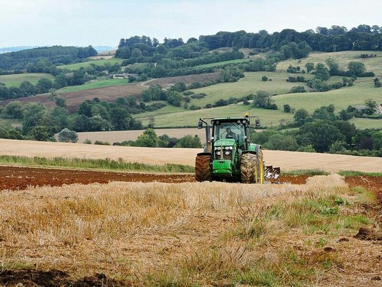 Taking Photos Enjoying Life Walking Around Englishcountryside Outdoor Photography Farmland Farmlandscape Out And About Tractors John Deere Tractor Landscape_photography Landscape EyeEm Best Shots - Landscape Landscape #Nature #photography EyeEm Landscape