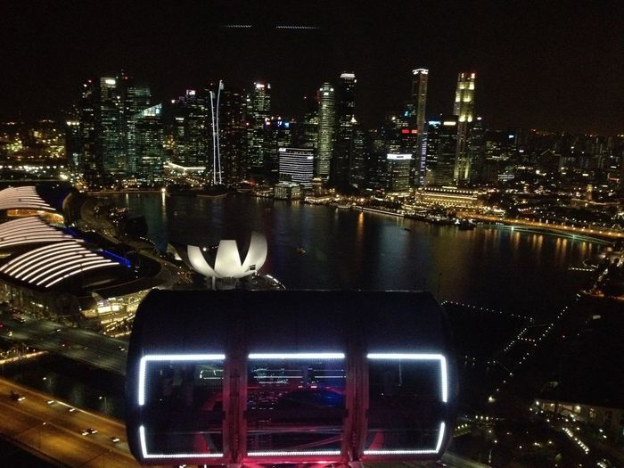 Singapore View Singapore City Singaporeflyer Life Is An Adventure Eyeem Pinay Wonderment Travel Destinations Solotraveler Southeast Asia Lifeistraveling Eyeem Kalipay Scenics Night Cityscape Skyscraper Eyeem A Traveler City Architecture Modern Eyeem Singapore Citylights Cityscapes City Street City View