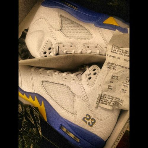 Had to cop the JORDAN5 Laney