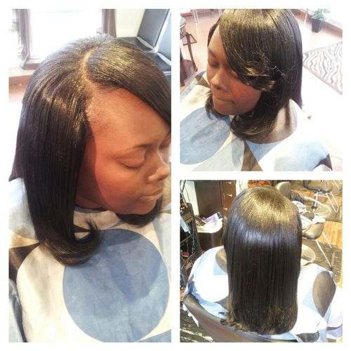FULL NATURAL SEW-IN.