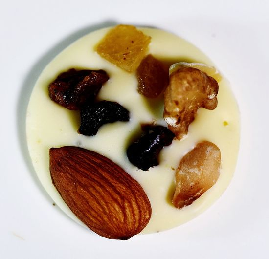 Sweet♡ Chocolate♡ WhiteChocolat Almonds Dessert Close-up Sweet Food Food And Drink