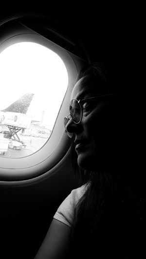 Homesick  Travel My Commute Leave Lost Feel The Journey Emotions Lonely Flying Light And Shadow Woman Airplane Window Lookin Out Traveling Home For The Holidays Let's Go. Together. Shades Of Winter An Eye For Travel Love Yourself This Is Strength