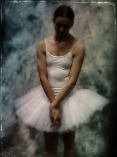 The Dancer #3 Young Adult Front View Indoors  Ballet Women Ballet Dancer