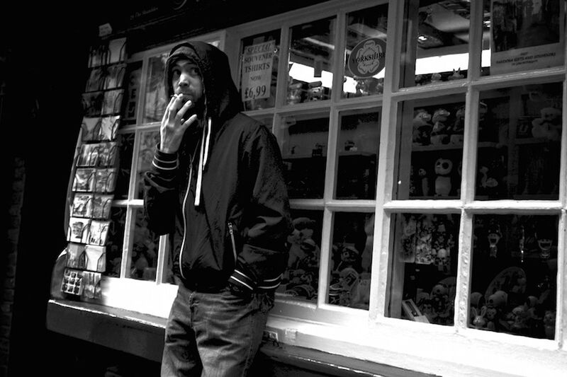 Open Edit Street Photography Black And White Smoking