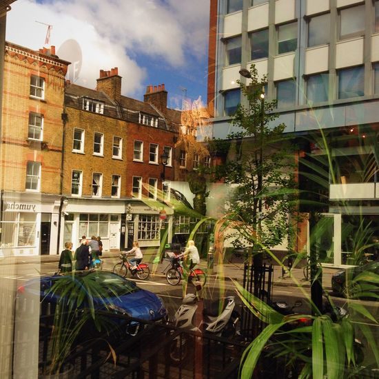 Reflection Reflections Through The Window London Soho Daily Life Strange Postcards Walking Around Street Photography View From The Street