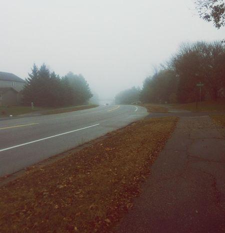 Foggy day... Foggy Weather Grey And Foggy Afterschool