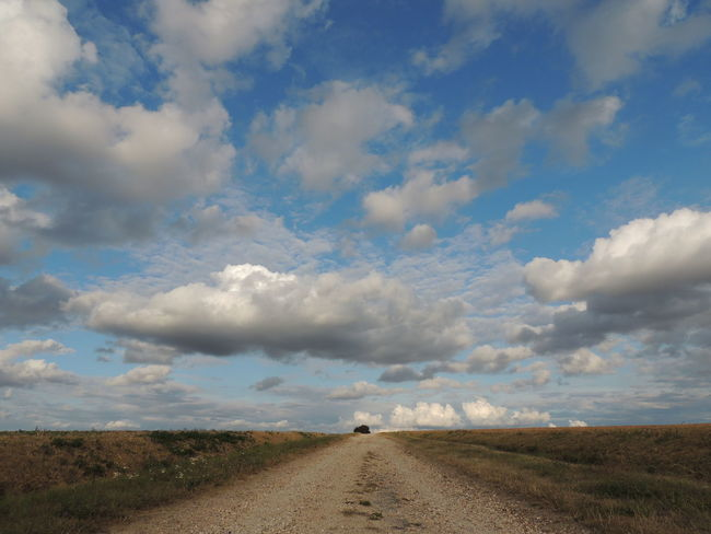 Loire Touraine Cloud - Sky Day Diminishing Perspective Direction Dirt Dirt Road Environment Field Grass Horizon Over Land Land Landscape Nature No People Non-urban Scene Outdoors Road Scenics - Nature Sky The Way Forward Tranquil Scene Tranquility Transportation