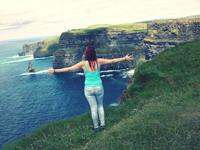 Cliffs of moher.. My heart beats higher <3 Enjoying Life Hello World Ireland