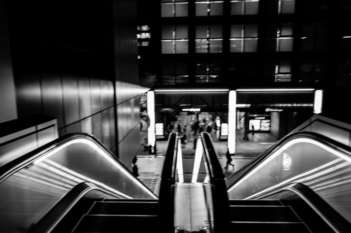 ▶️http://koukichi-t.Com ▶️http://instagram.com/kt.pics ▶️http://twitter.com/Koukichi_t Transportation Tourism Technology Streetphotography Street Staircase Real People Nightlife Night Light And Shadow Indoors  Illuminated Getting Inspired Futuristic Escalator Built Structure Black And White B&w Street Photography Architecture Urban Exploration Stairway Stairs Japan Lovers Japan