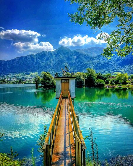 Done That. Sky Day Nature Lake Cloud - Sky Water Outdoors No People Tree Beauty In Nature Scenics Lago Vacaciones🌴 Panorama Landscape