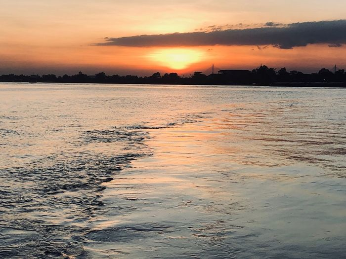 Water Sunset Beauty In Nature Sky Scenics - Nature Sea Tranquility