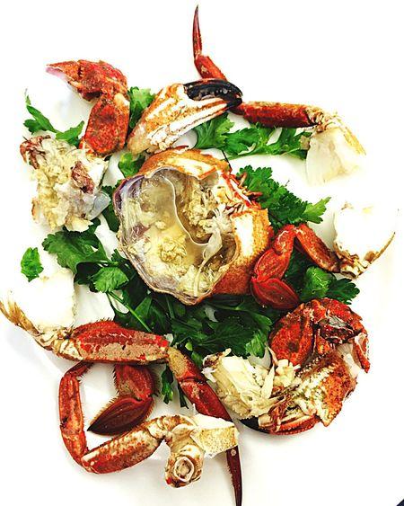 Necora de ría gallega en El Hogar Gallego Gastronomy Calella Maresme Barcelona Toni Gordillo Elhogargallego Mediterranean Food Restaurant Spanish Food