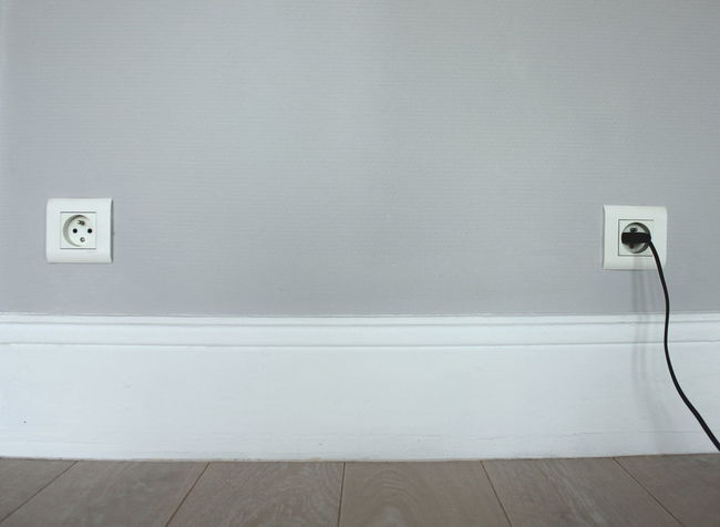 Contrast Day Different Different Is Better . ❤ Electricity  Grey Grey Wall Indoors  No People Plug Plugged In Plugin Similar Twins White Color Socket Power Socket Power Power Source