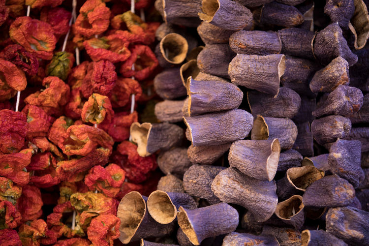 Tomato Eggplant Dry Vegetable Food Market Istanbul