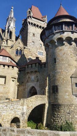 Burg Kreuzenstein Castle Burg History Mittelalter Edad Media