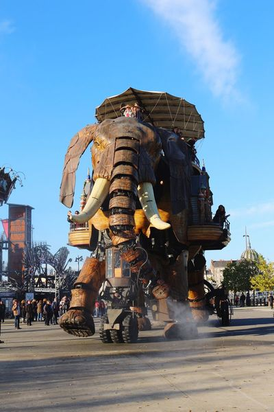 "In Nantes, they called it ""Les Machines de L'ile"". The Street Photographer - 2016 EyeEm Awards Holiday Popular Photos ArtWork Machine Elephant Robots People Winter Traveling Nantes France Animals Robot Art Eye4photography  Capture The Moment Streetphotography EyeEm Best Shots Eye4photography  EyeEmBestPics Technology Winter Macro Beauty Animal"