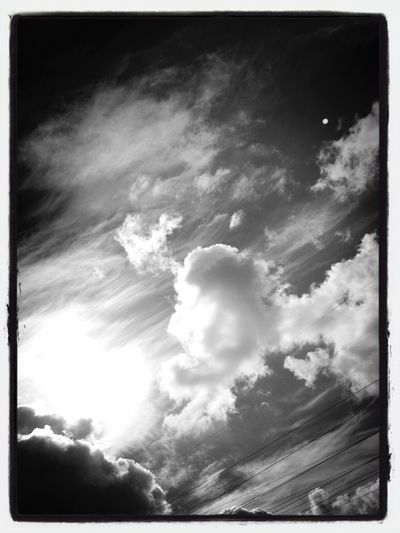Clouds Black & White