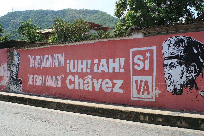 Architecture Art Communication Graffiti Rip Sign Street Art Text Ugo Ugo Chavez Wall Wall - Building Feature Street Art/Graffiti Venezuela