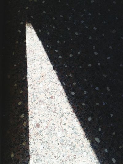 Triangle Light And Shadow Floor Marble