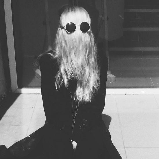 Black&white Blackandwhite Girl CousinItt Allright