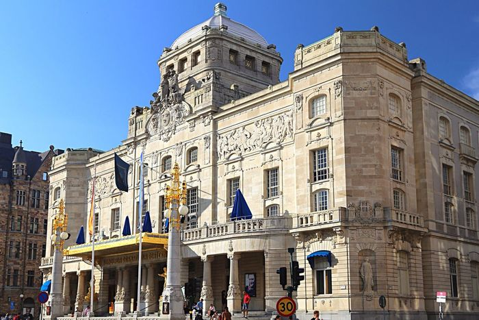 Theater Architecture Architecture_collection Stockholm Sweden Scandinavia Building Old Buildings Traveling Travel