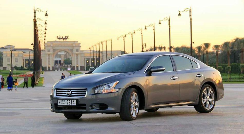 My new ride... ☺ NissanMaxima Enjoying Life Zabeel On The Road MyCar UAE , Dubai Palace
