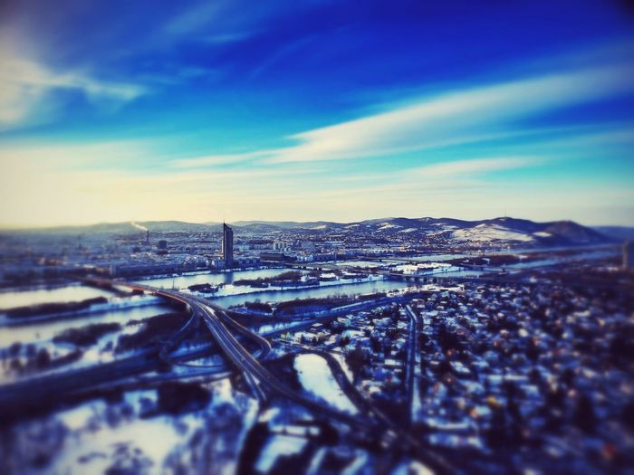 Beatiful View From  Donauturm Love Vienna AmazingArchitecture_collection Architectureporn Urban Landscape Landscape_photography Sky Collection
