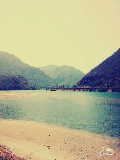 River Alaknanda..