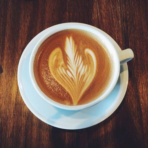 Morning Mocha Coffee Latte Art