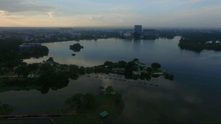 Dronephotography Aeroview @Yangon,Myanmar