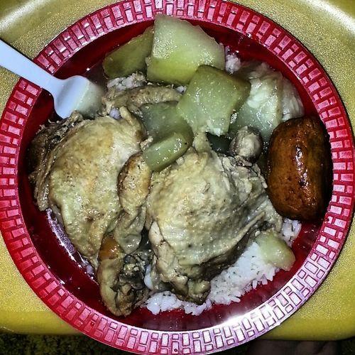 My Dinnah. Chicken Squash