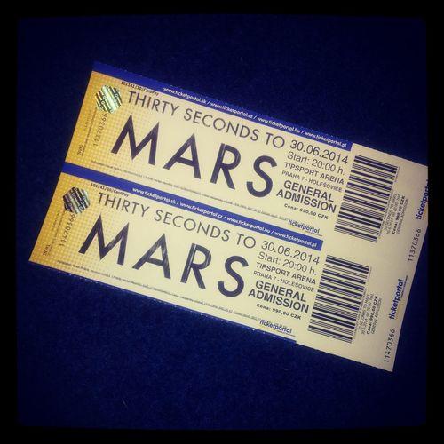 30 seconds to Mars 30. 6. 2014 ;) 30secondstomars Prague Jared Leto