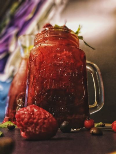 🍹 Cocktail Cold And Fresh Fruit Close-up Food And Drink Berry Fruit Raspberry First Eyeem Photo