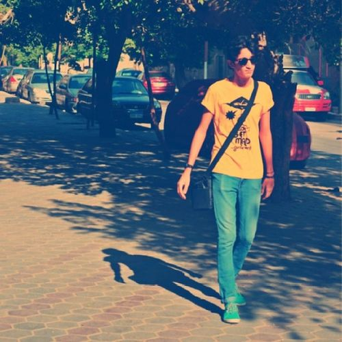 Nadara Rayban Yellow Cross StyleSelfieInstarawshna