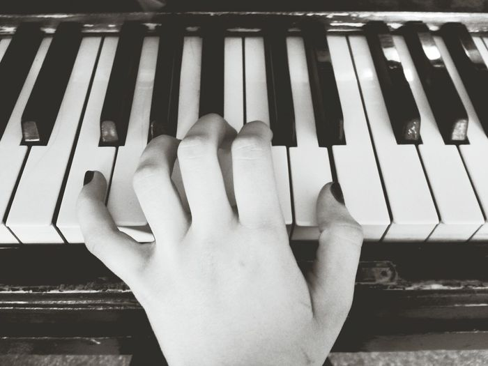 Musician Piano Old Piano Enjoying Life Black And White Hello World Follow Me