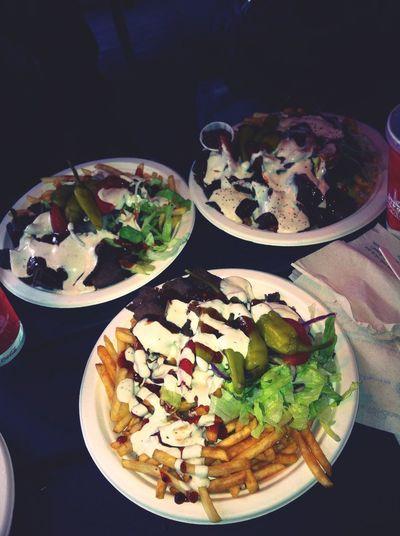 Kebab Fries Food Love