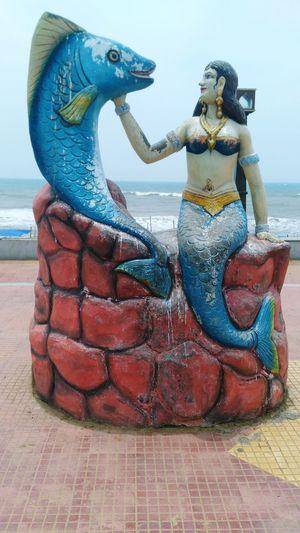 The Statue Of MERMAID