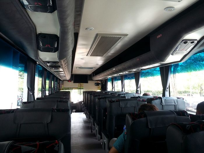 Bus Transportation Transpot Empety Site Passway Travel Kuala Lumpur Malaysia  Passenger Public Transportation No People? Putrajayasentral Interior Views Under Vehicle Interior Journey Waiting Place