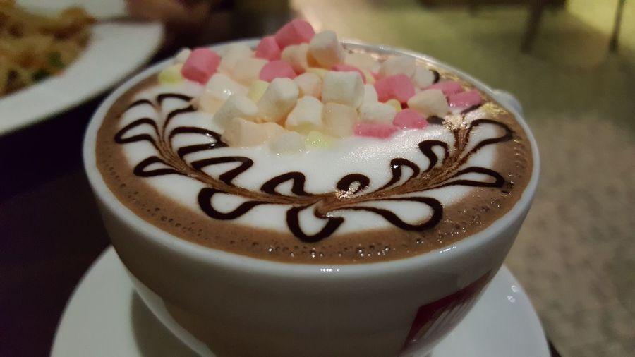 Mashmallow Mashmallow Hot Chocolate Hot Chocolate Hot Chocolate ❤ Drink Time Hot Chocolate C/w Marshmallow Drink Chocolate ❤