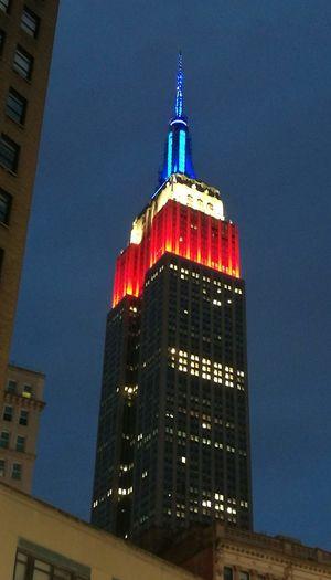 New York New York City Empire State Building Empirestatebuilding Empire Of Lights USA